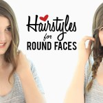 Haircuts And Hairstyles For Round Faces | Tips And Tricks - Youtube for Haircut For Round Face To Look Slim