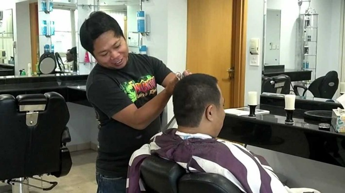 The Best Barber In Doha Qatar @ Biobil Men Salon Tel. +97444830989 for Best Haircut Salon In Qatar