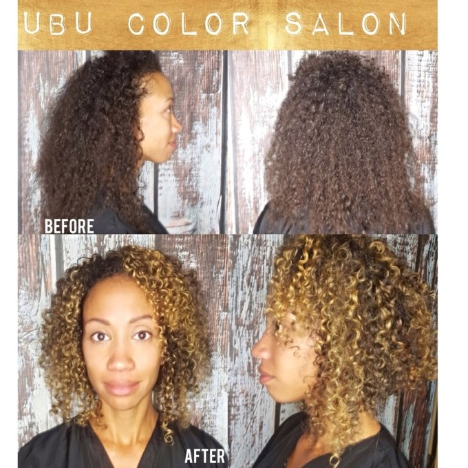 We Love Curly Hair ,ouidad Haircut And Balayage Hair Color By Penny inside Hair Cuts Salon Tampa Fl