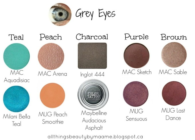 best makeup colors for blue gray eyes | saubhaya makeup