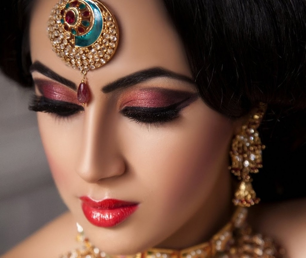 indian bridal makeup wallpaper gallery - wavy haircut