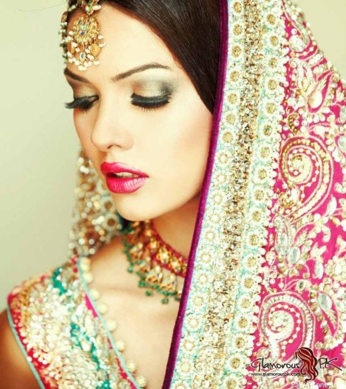 indian bridal makeup pictures 2013 – wavy haircut