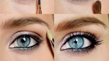 Eyeshadow Tips For Blue Gray Eyes – Wavy Haircut in Makeup Tips For Blue Gray Eyes
