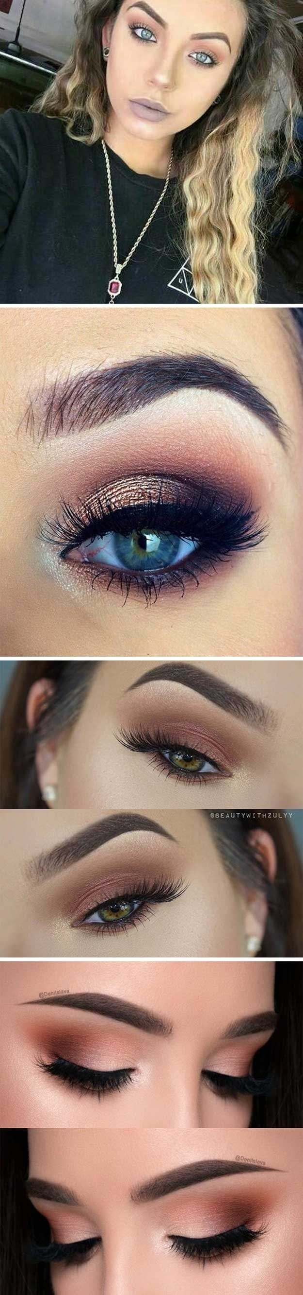Makeup Tips For Brown Hair And Green Eyes | Saubhaya Makeup throughout Makeup Tips For Green Eyes And Dark Brown Hair