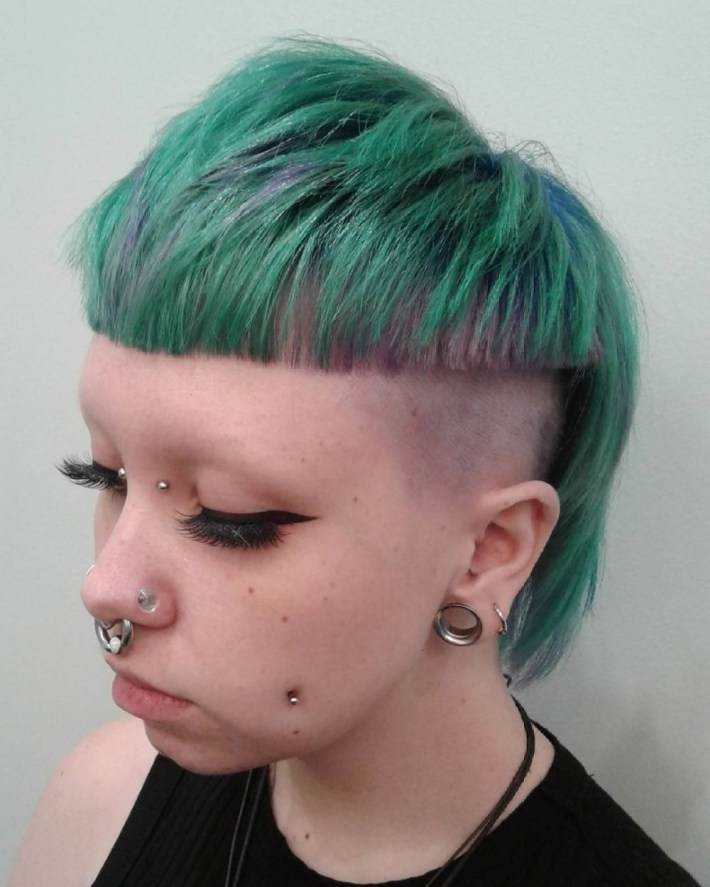18 Punk Hairstyles For Women (Trending In 2019) in Punk Rock Hair Medium Cutd