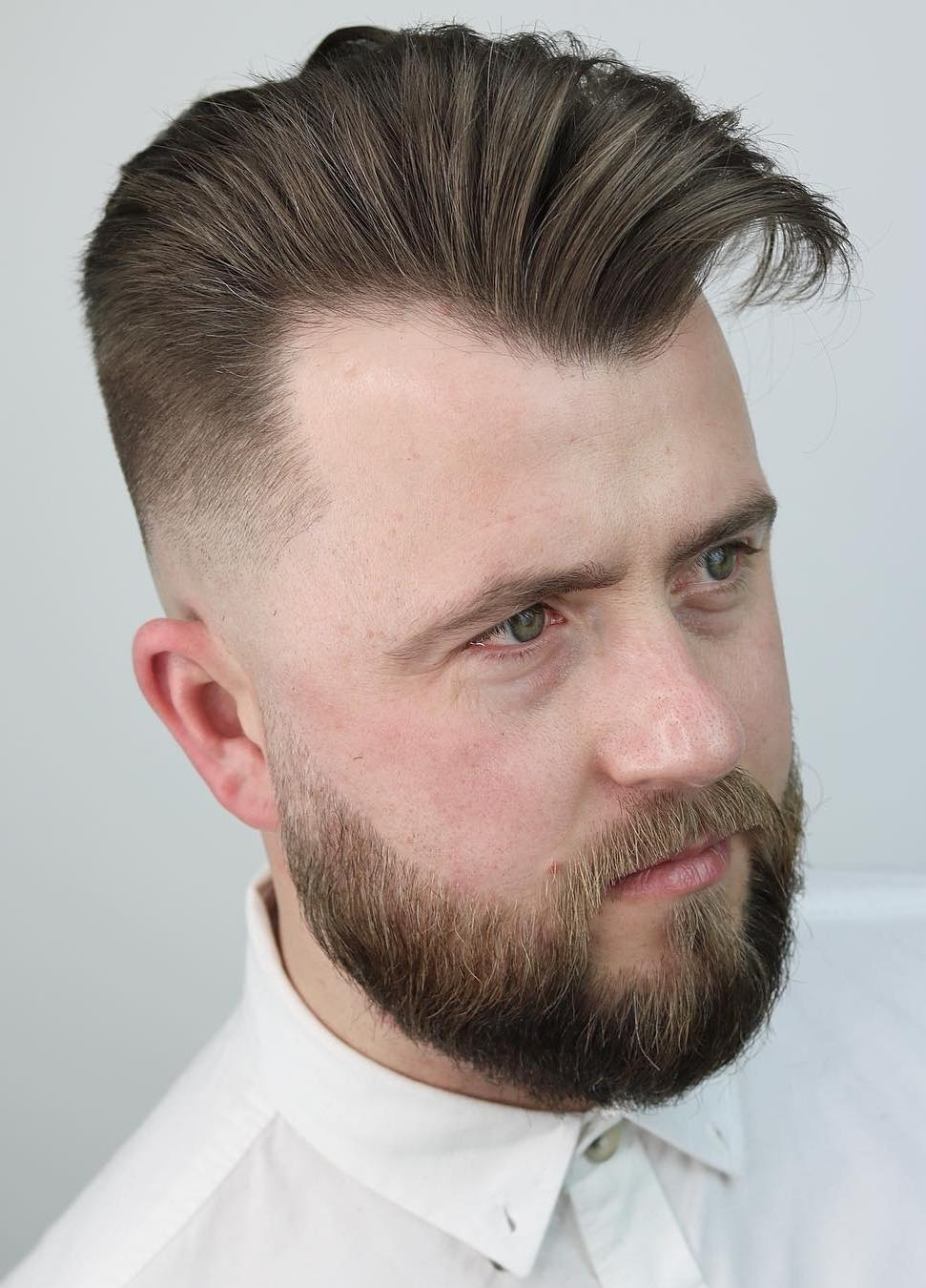 Hairstyles For Men With Receding Temples - Wavy Haircut
