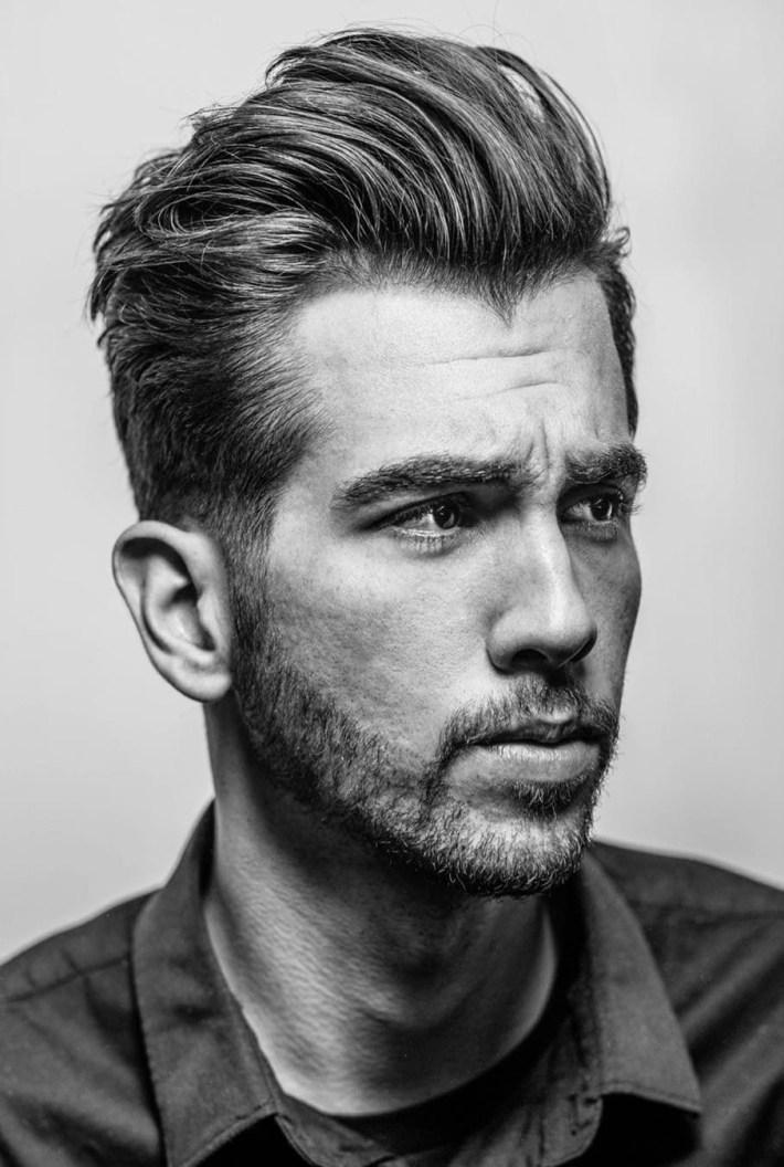 20 Best Widow's Peak Hairstyles For Men with Mens Widows Peak Haircut