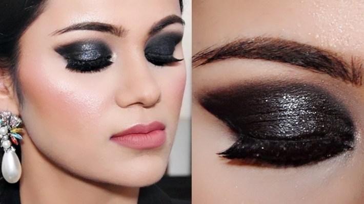 3 Step Black Smokey Eye Makeup For Beginners |Tutorial In Hindi With within Smokey Eye Makeup Tips In Hindi
