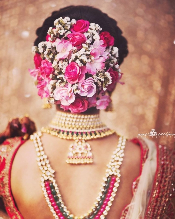 30 Best Indian Bridal Hairstyles Trending This Wedding Season! - Blog intended for Hair Style Of Bridal Indian
