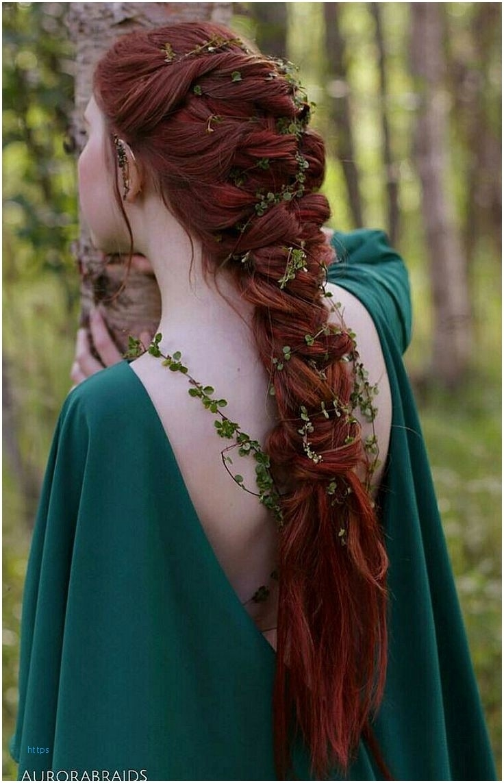 celtic hairstyles for women - wavy haircut