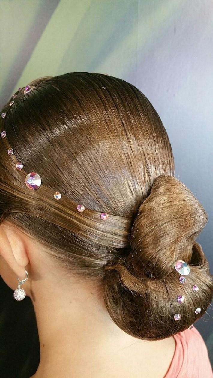 easy ballroom dance hairstyles - wavy haircut