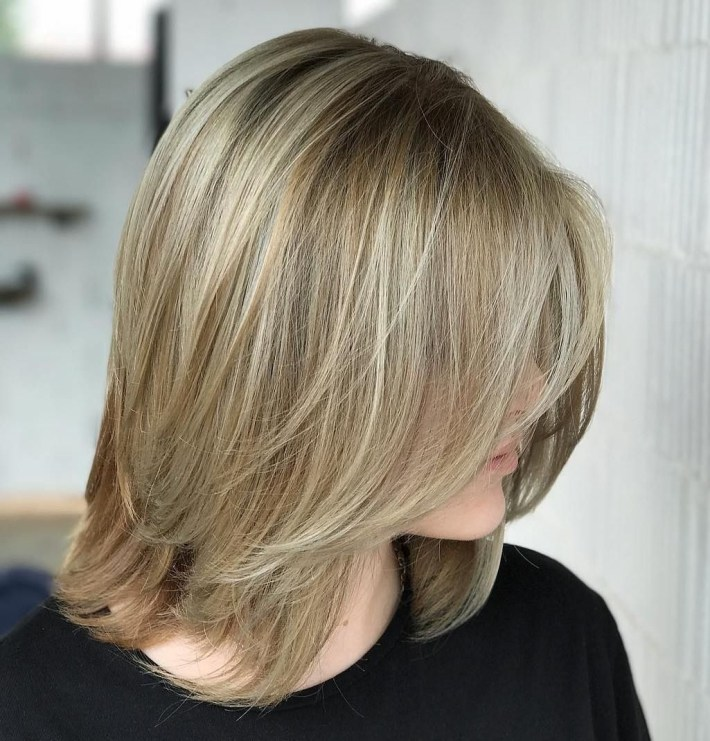 70 Devastatingly Cool Haircuts For Thin Hair | Hairstyles | Bob inside Hair How To Style A Flipped Fringe