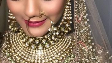Bridal Makeup Looks Which Rocked The 2018 Indian Wedding Season - Blog regarding Bridal Makeup Gallery Indian