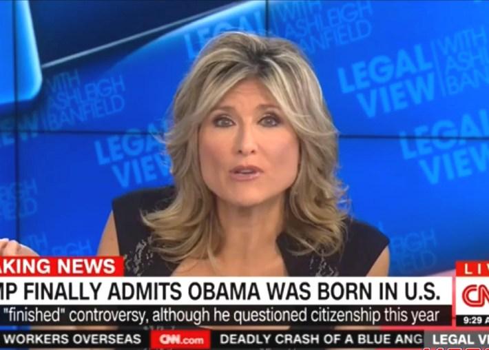 Cnn's Ashleigh Banfield Trolls Trump In Very Trump-Like Fashion within Ashley Banfield Longer Hair Images