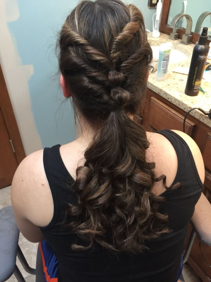 Cute Hairstyle For Middle School Dances! | Emma | Cute Hairstyles pertaining to Easy Hairdo For Middle School Dance