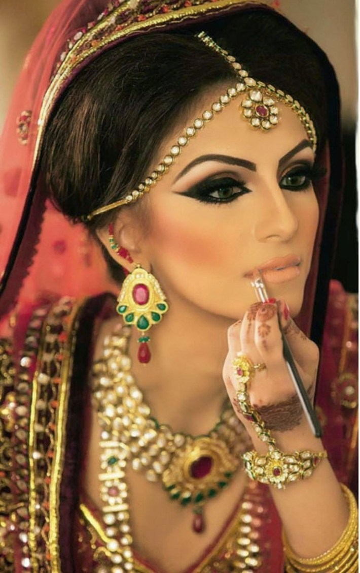 indian bridal makeup images free download - wavy haircut