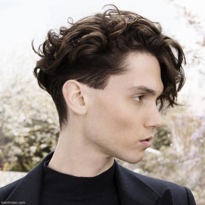 Feminine Hairstyles For Men Haircut With Masculine And Feminine intended for Men In Feminine Hair Styls