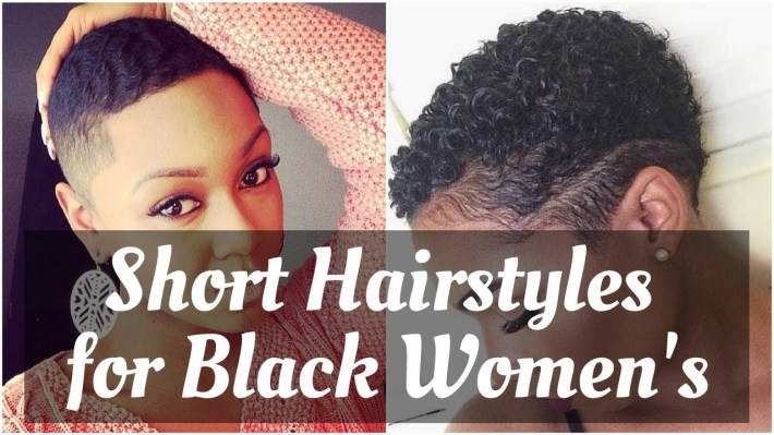 Fresh Short Natural Hairstyles For Black Women 2018 - Youtube intended for Fade Hairstyles For Black Women With Alopecia