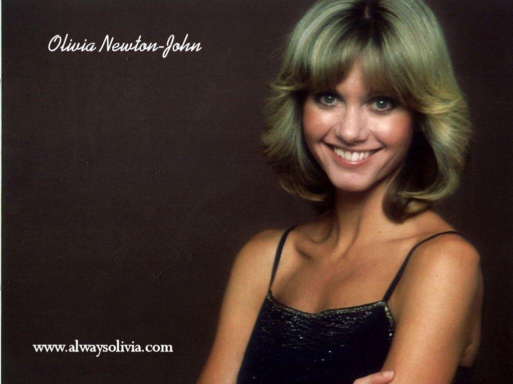 olivia newton john 1970s hair style - wavy haircut