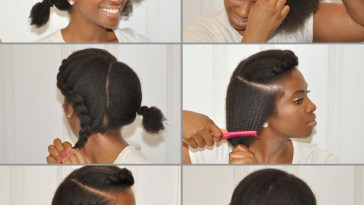 Learn How To Style A Simple Yet Chic Goddess Braid On Natural Hair in Natural Hair Style With Accessories Pinterest