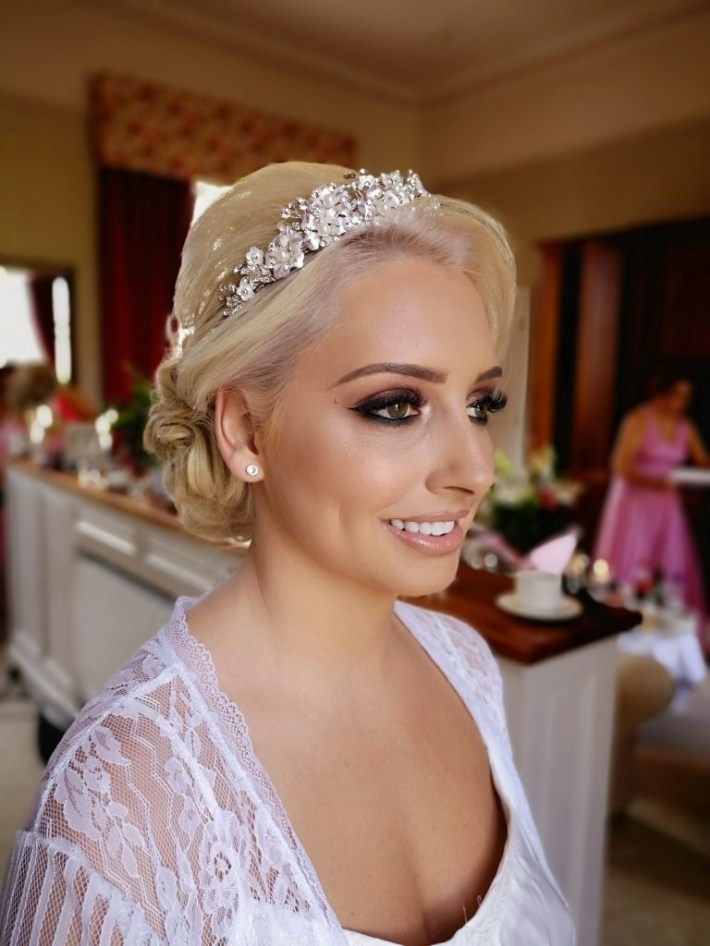 Let The Queen Team Give You The Bridal Hair Look You Never Thought throughout Bridal Hair Courses Northern Ireland