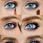 Lovely Makeup Tutorials For Blue Eyes | Makeup | Makeup, Beautiful in How To Put On Makeup For Blue Eyes And Brown Hair