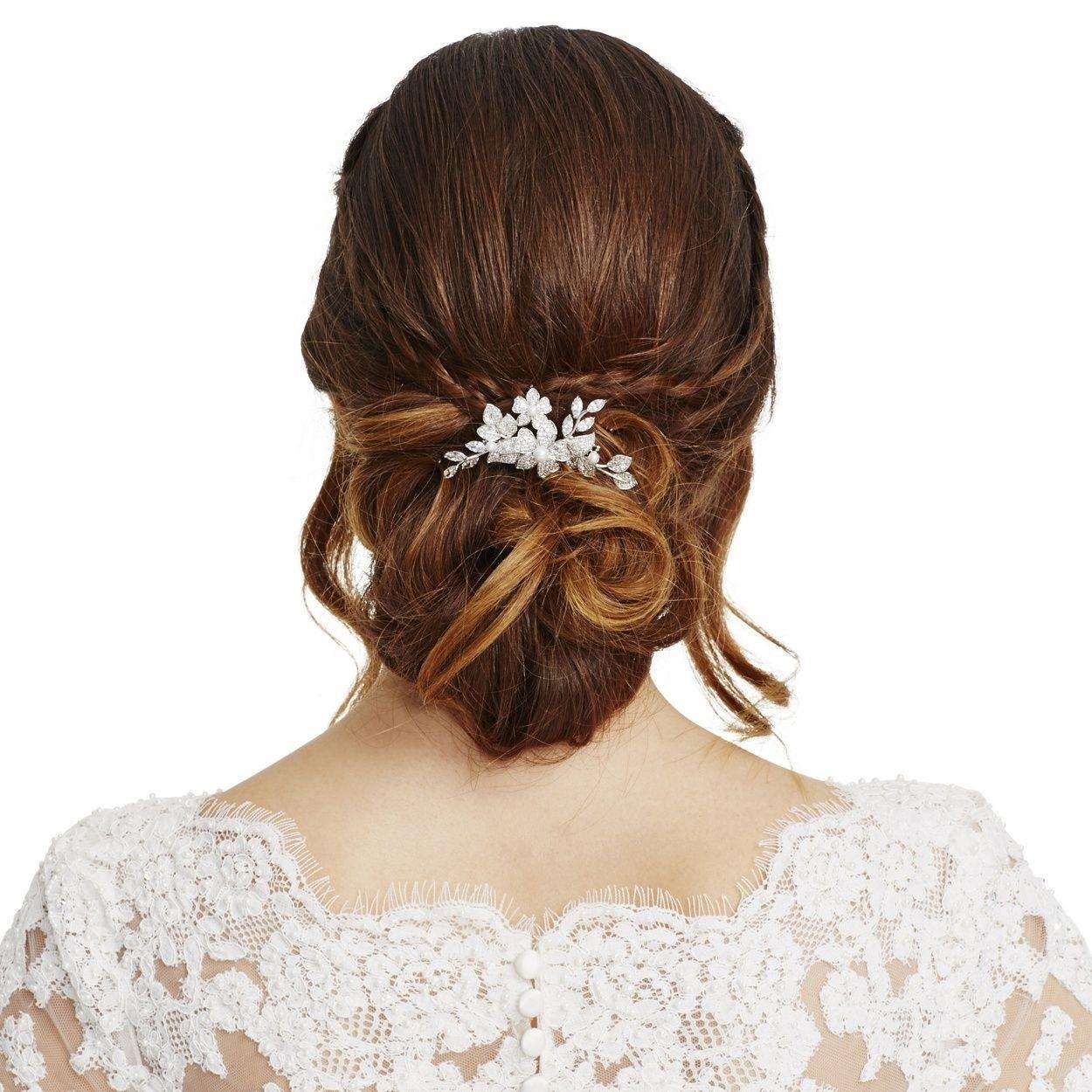 debenhams bridal hair pins - wavy haircut