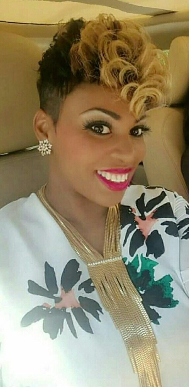 atlanta short hairstyles black women - wavy haircut