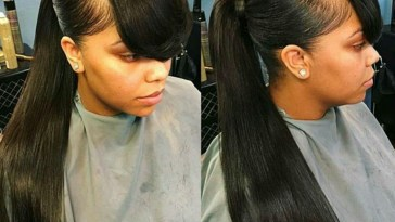 Pin By Ladonna Vann On Hairstyles To Try | Long Ponytail Hairstyles throughout Black Hair Ponytail Weave