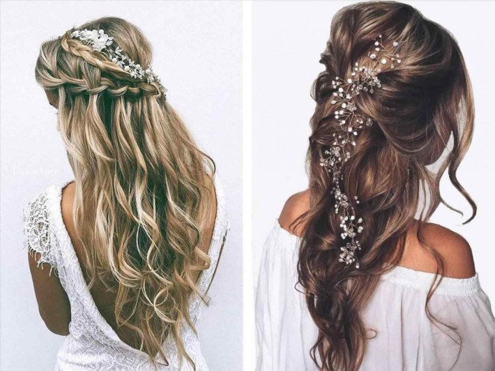 Prom Hairstyles Half Updo | Best Hairstyles And Haircuts For Women pertaining to Curly Down Prom Hairstyles