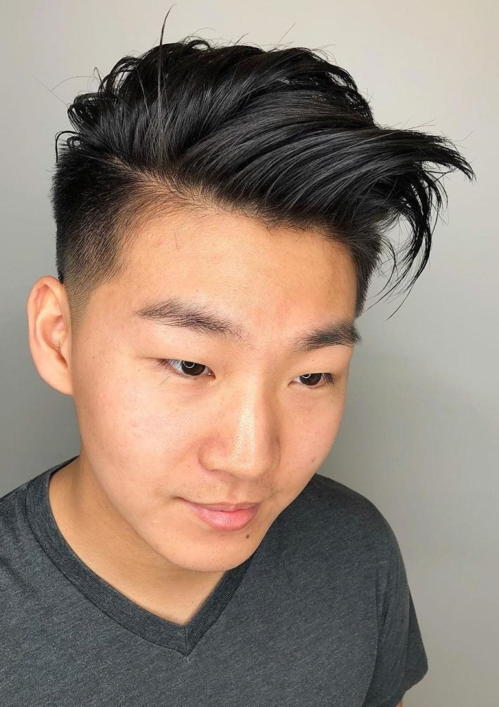 Top 30 Trendy Asian Men Hairstyles 2019 with Haircut Men Short Asian