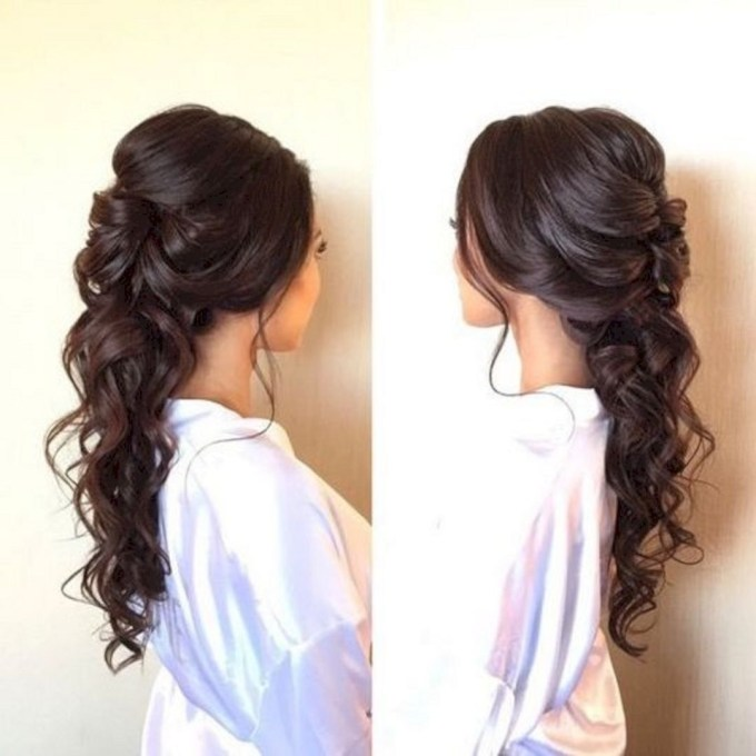 15 Beautiful And Adorable Half Up Half Down Wedding Hairstyles Ideas regarding The greatest Asian Half Up Hairstyles