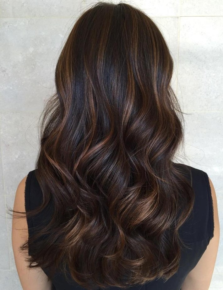 20 Must-Try Subtle Balayage Hairstyles with The most ideal Asian Hair With Caramel Highlights