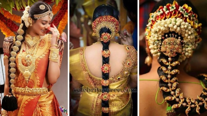 30 Best Indian Bridal Hairstyles Trending This Wedding Season for Bridal Hairstyle In South Indian Style