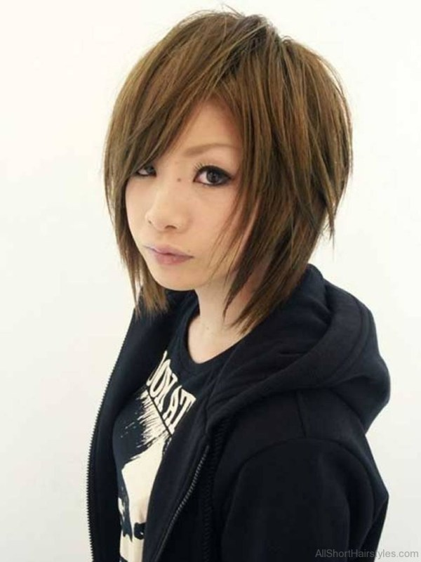 75 Appealing Short Side Swept Haircuts For Girls inside Asian Side Swept Bangs Hairstyles