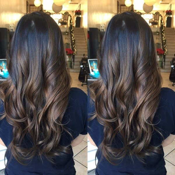 Balayage Highlights And Haircut On Asian Hair - Yelp inside Very best Asian Hairstyles With Highlights