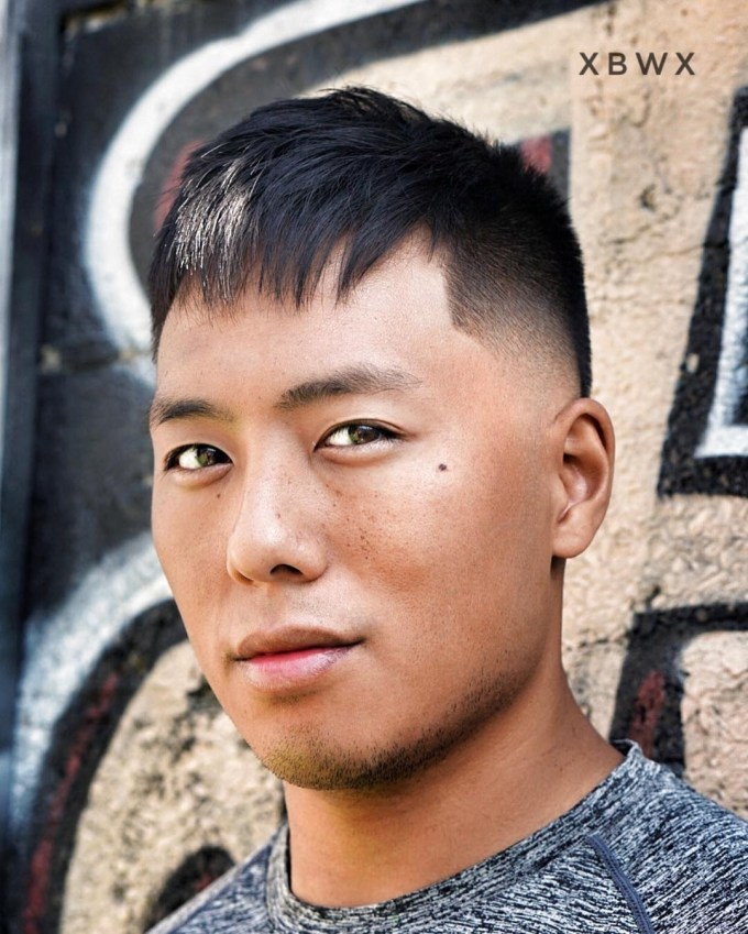 Best Hairstyles For Asian Men with Asian Male Hairstyles Round Face
