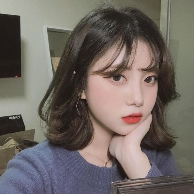 ♡ Her Hair Is So Pretty! #peinadosasiaticos | Aesthetics In 2019 pertaining to Cute Korean Hairstyles For Short Hair