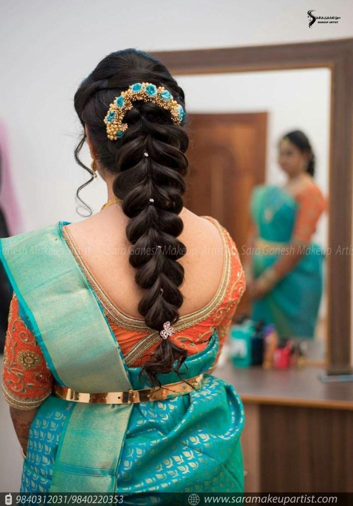 Hair Do   Hair Do   Indian Wedding Hairstyles, Wedding Hairstyles intended for Bridal Hairstyles For Long Hair South Indian