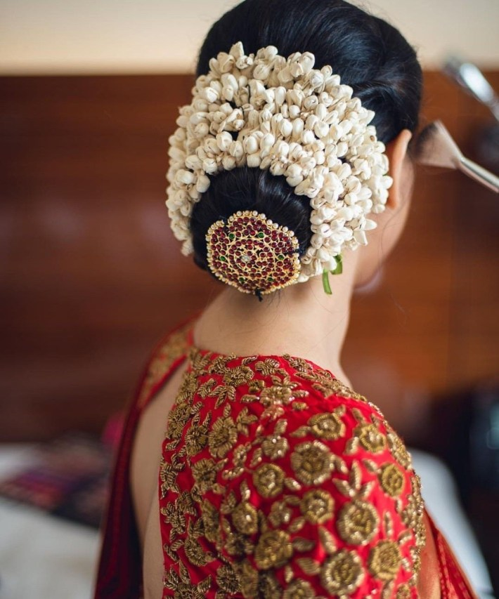 Hair Style   Blouse In 2019   Indian Wedding Hairstyles, Bridal Hair inside Bridal Hairstyle In Indian Style