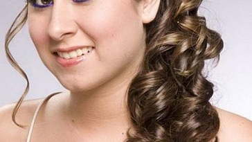Indian Bridal Hairstyle For Round Chubby Face, Wedding Hairdo For in Bridal Hairstyle For Round Face For Indian