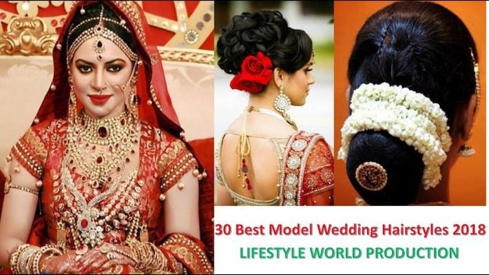 Indian Bridal Hairstyles | 30 Best Model Wedding Hairstyles 2018 with regard to Bridal Hairstyle Indian Wedding