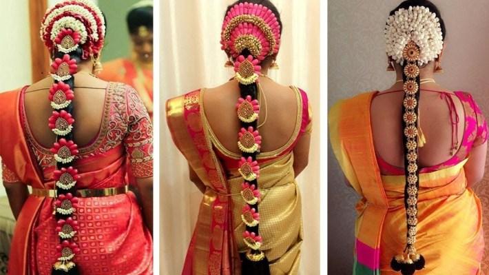 Indian Bridal Hairstyles | Wedding Hairstyles Step By Step | Bridal Bun And  Bridal Plait Hairstyles for Bridal Hairstyle Indian Wedding Step By Step