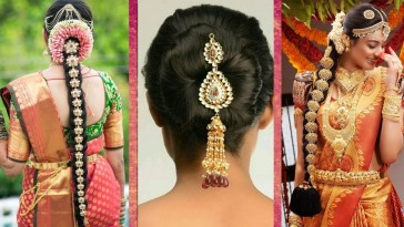 Indian Bridal Hairstyles | Wedding Hairstyles Step By Step | Bridal Bun And  Bridal Plait Hairstyles with regard to Bridal Hairstyle Indian Wedding Step By Step