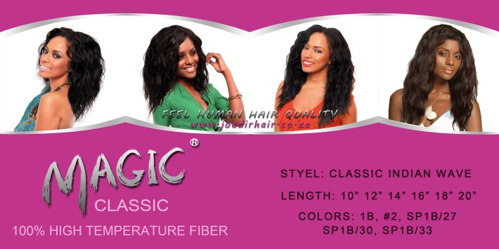 Magic Hair Extensions with Classic Indian Weave Hairstyles