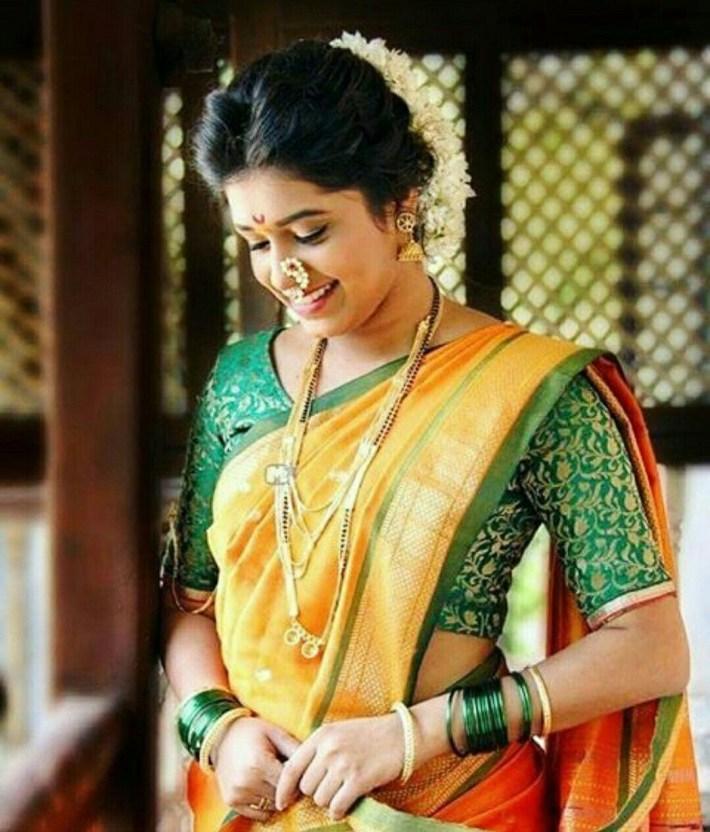 Maharashtrian Bride Hairstyle | Wedding Photography In 2019 | Saree throughout Bridal Hairstyle Indian Marathi Style