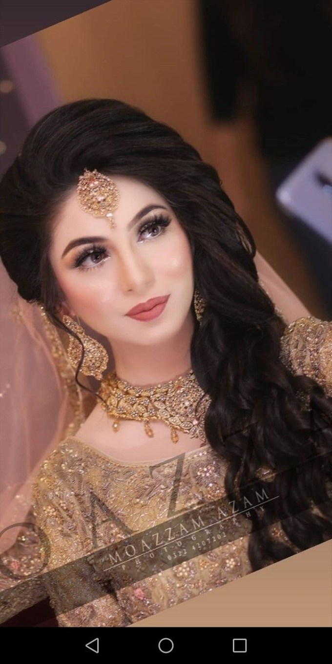 Pakistani Wedding Bride #asian Brides | Bridal Dresses In 2019 pertaining to Asian Wedding Party Hairstyles