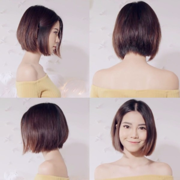 Sichenmakeupholic On Youtube Is Short Hair Goals #asian #bob inside The best Short Bob Hairstyles For Asian Hair