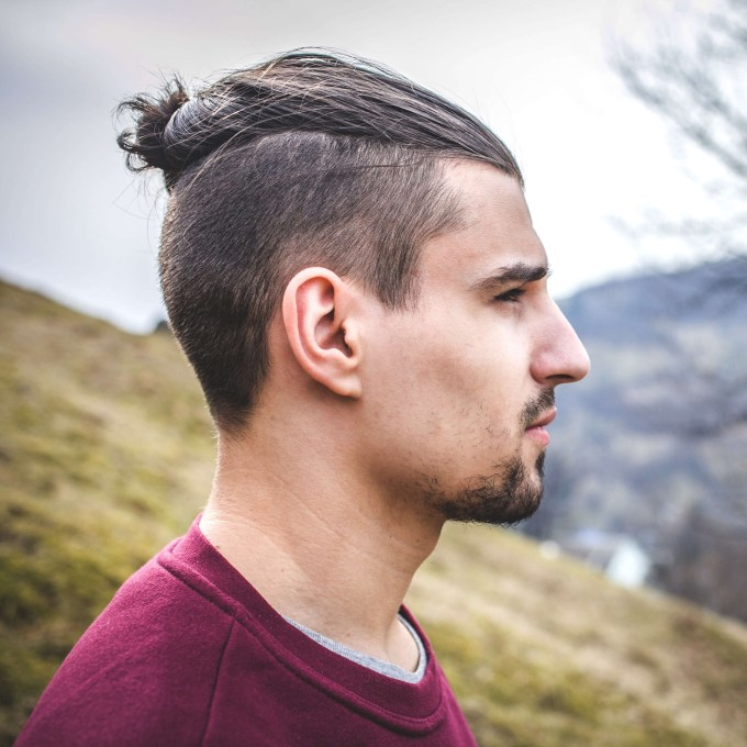 The Top Knot Hairstyle - Visual Guide For Men (7 Different Styles) within Asian Ponytail Hairstyles Male