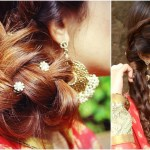 3 Indian Hairstyles For Medium To Long Hair | Indian Wedding Hairstyles For  Medium Hair within Indian Braid Hairstyles For Long Hair Video